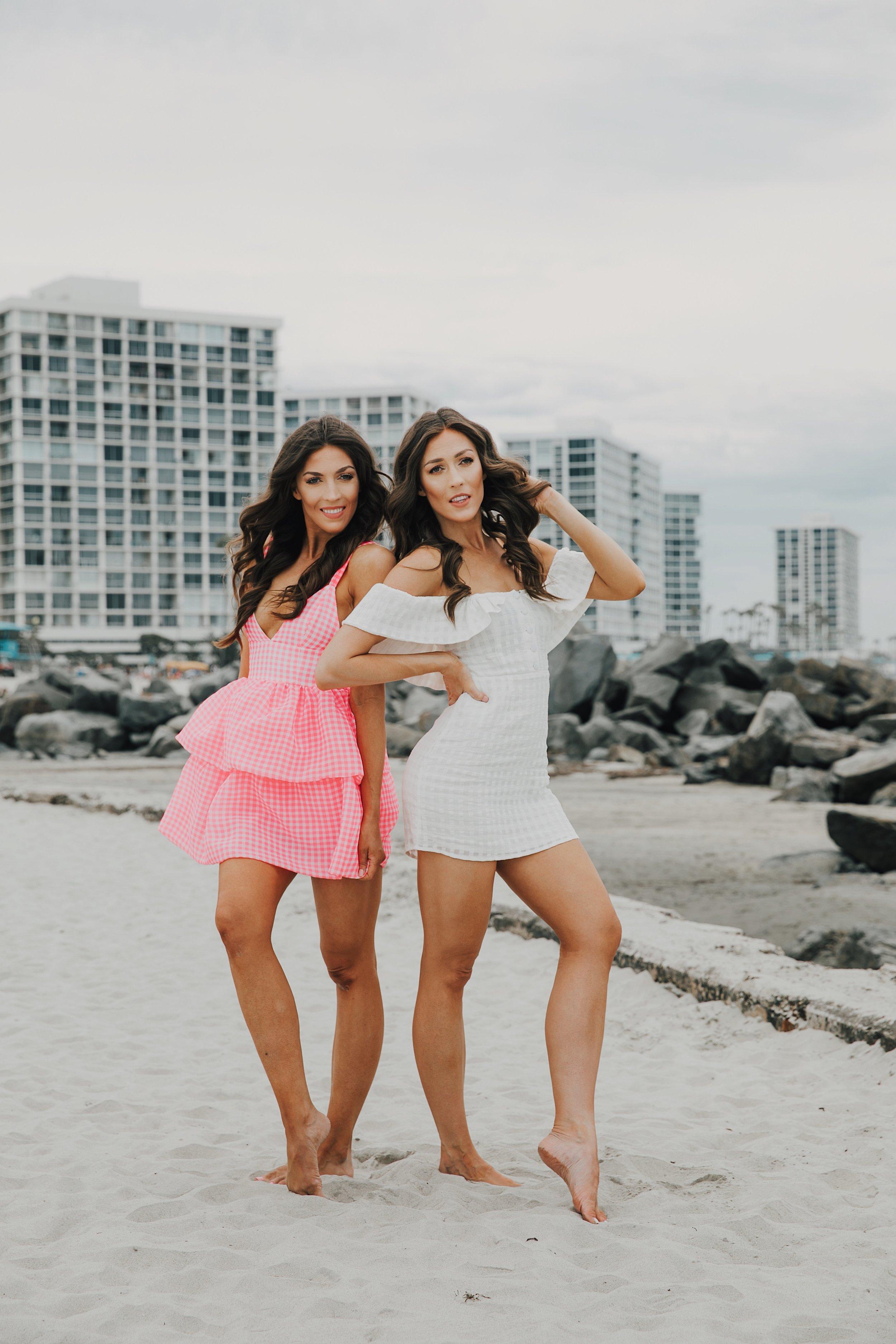 Revolve Gingham Summer Dresses at The Del Coronado 2.JPG