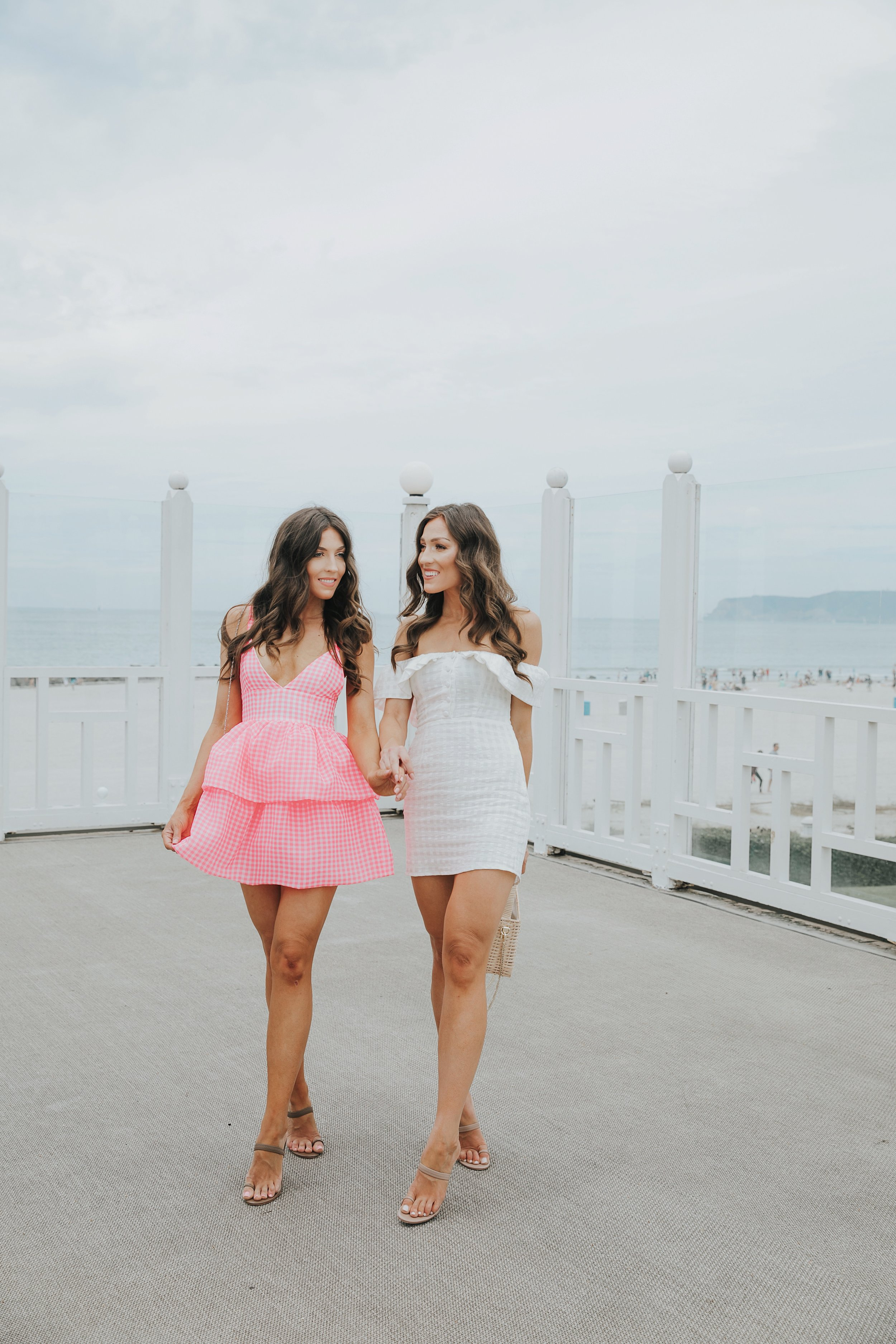 Revolve Gingham Summer Dresses at The Del Coronado 4.JPG