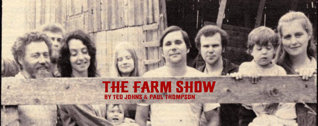 SUNDAY BRUNCH READING SERIES: THE FARM SHOW - AUGUST 4, 2019 @ 11:00 AM