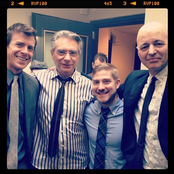 Original Cast Recording - Will, Michael Keller (music coordinator),Brian, and Sammy