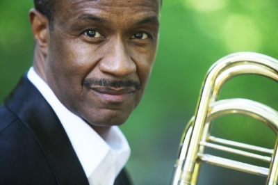 Doulgas Purviance - Bass TromboneDouglas Purviance is a Grammy-winning producer and bass trombonist who established his professional career in 1975 with a two-year engagement with the highly acclaimed Stan Kenton Orchestra. Born in Baltimore, he moved to New York in 1977 to build a career that is characterized by diversity and leadership. He became a member of the Thad Jones/Mel Lewis Orchestra, now the Vanguard Jazz Orchestra. He is a charter member of the Carnegie Hall Jazz Band. In addition, he was featured as bass trombonist in the Broadway musical CATS for its entire 18-year run. Douglas currently manages production and marketing of the Vanguard Jazz Orchestra recordings, including the band's most recent release Forever Lasting Live in Tokyo. He received the 2009 grammy award as producer of the CD Monday Night Live at the Village Vanguard by the Vanguard Jazz Orchestra. Purviance oversees the band's financial management and worldwide tour booking; and is treasurer of Sixteen as One Music, Inc. a not-for-profit fund-raising entity for educational and multi-cultural initiatives. He is founder of Purviance Productions a music services company. He has toured extensively with jazz greats Dizzy Gillespie, Slide Hampton, Jimmy Heath, Ron Carter among others. Douglas is an active jazz educator and clinician and regularly participates in master class tours.