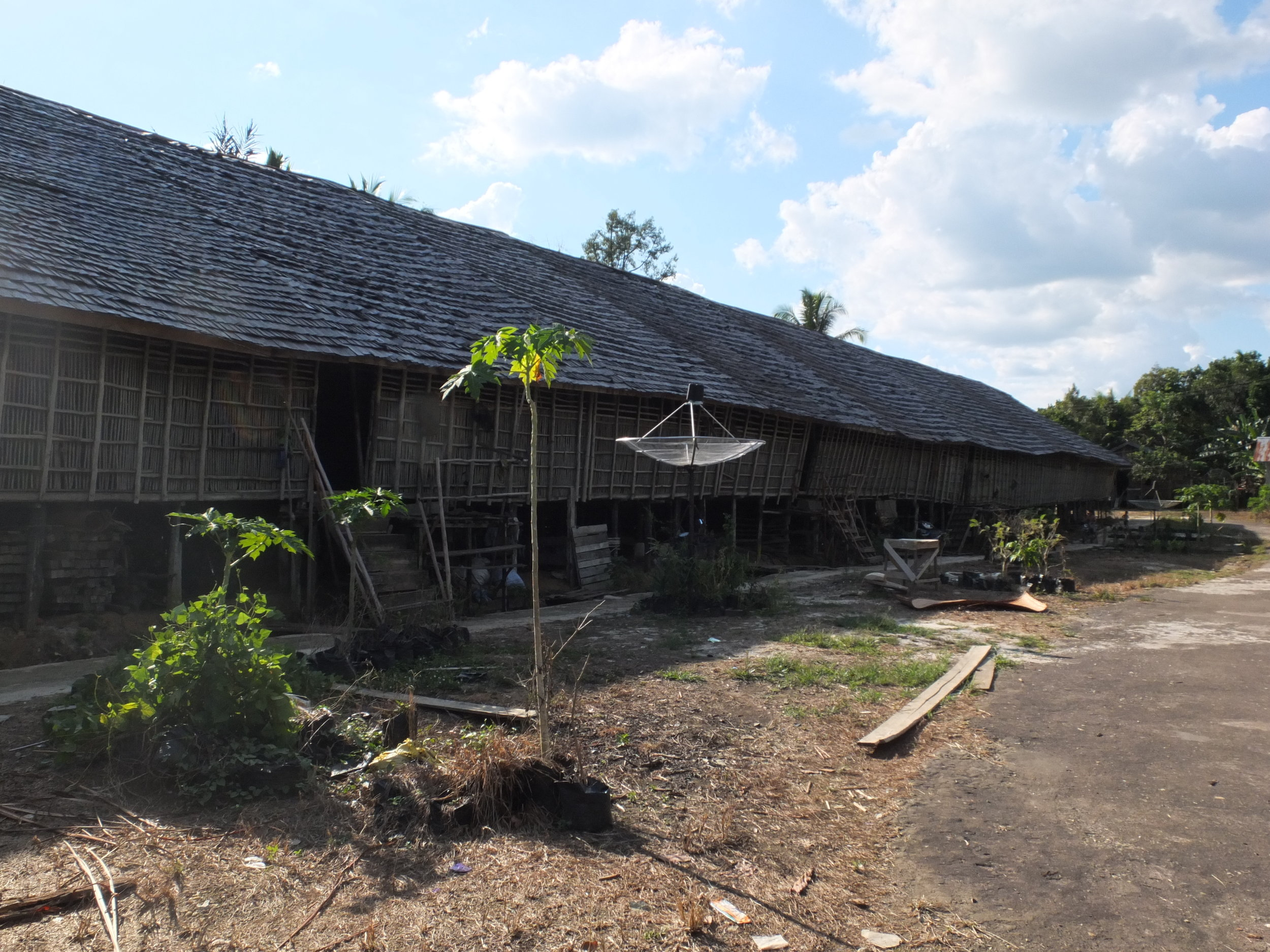 The People's Fabric - Rumah Betang Longhouse