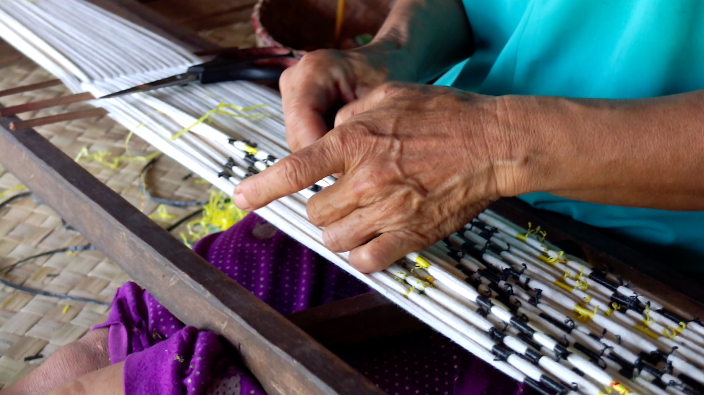 The People's Fabric - Weaver - Motif