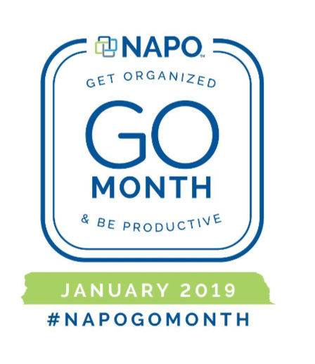 Time to Get Organized during GO Month