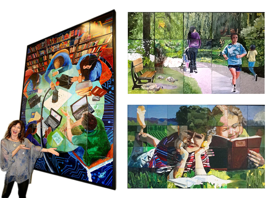 "above: ""PLUGGED IN""  