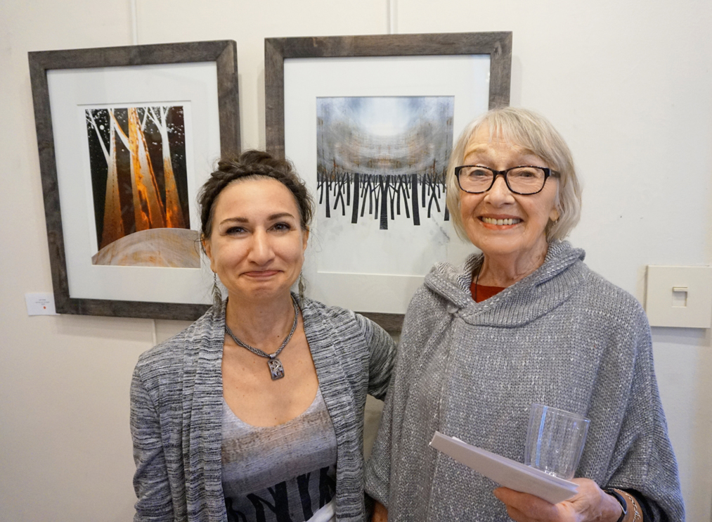 Had a wonderful visit with Joan Nicol, an art consultant I worked with over 30 years ago!