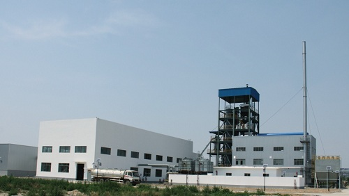 Fluidized bed 2-stage gasification