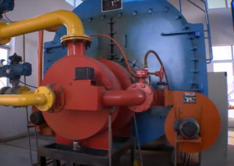 Syngas boiler