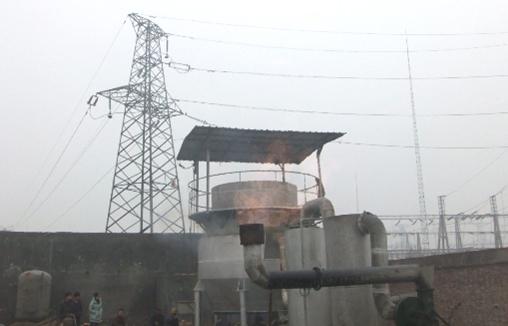 兆瓦级生物质气化发电