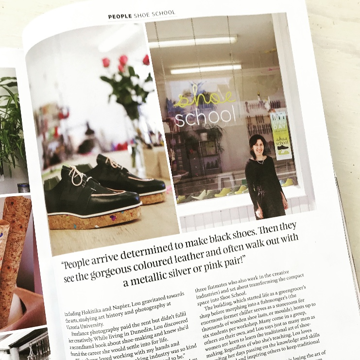 Clever clogs - Nadia magazine. By Sharon Stephenson. Dec 2018