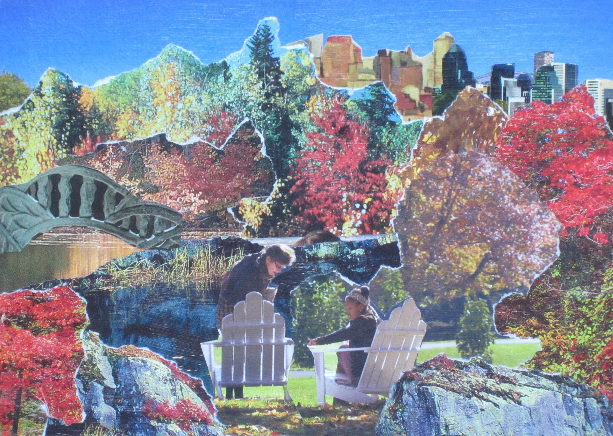 "Collage: ""Autumn Serenade"""