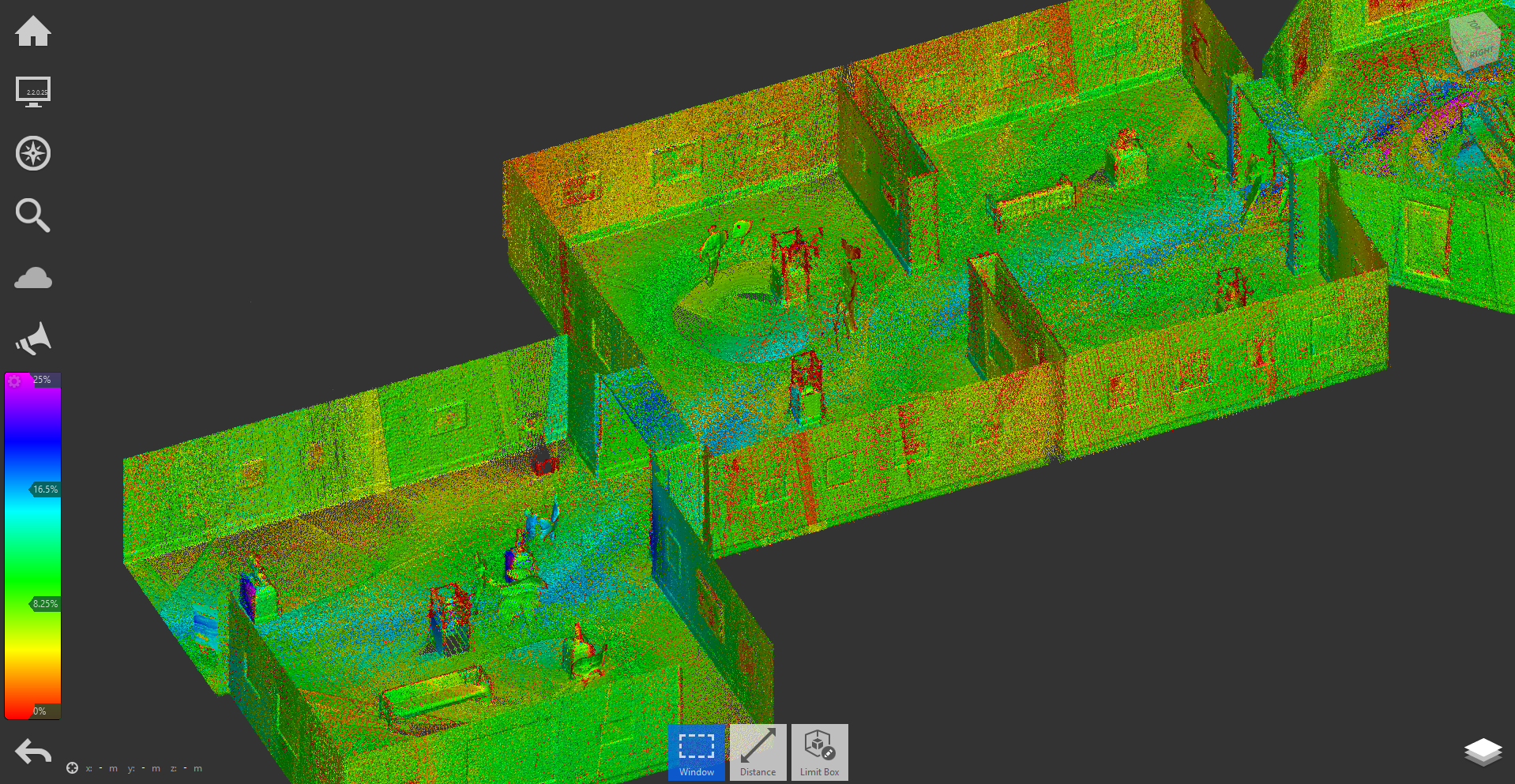 INTELLIGENT POINT CLOUD RENDERING OF MUSEUM