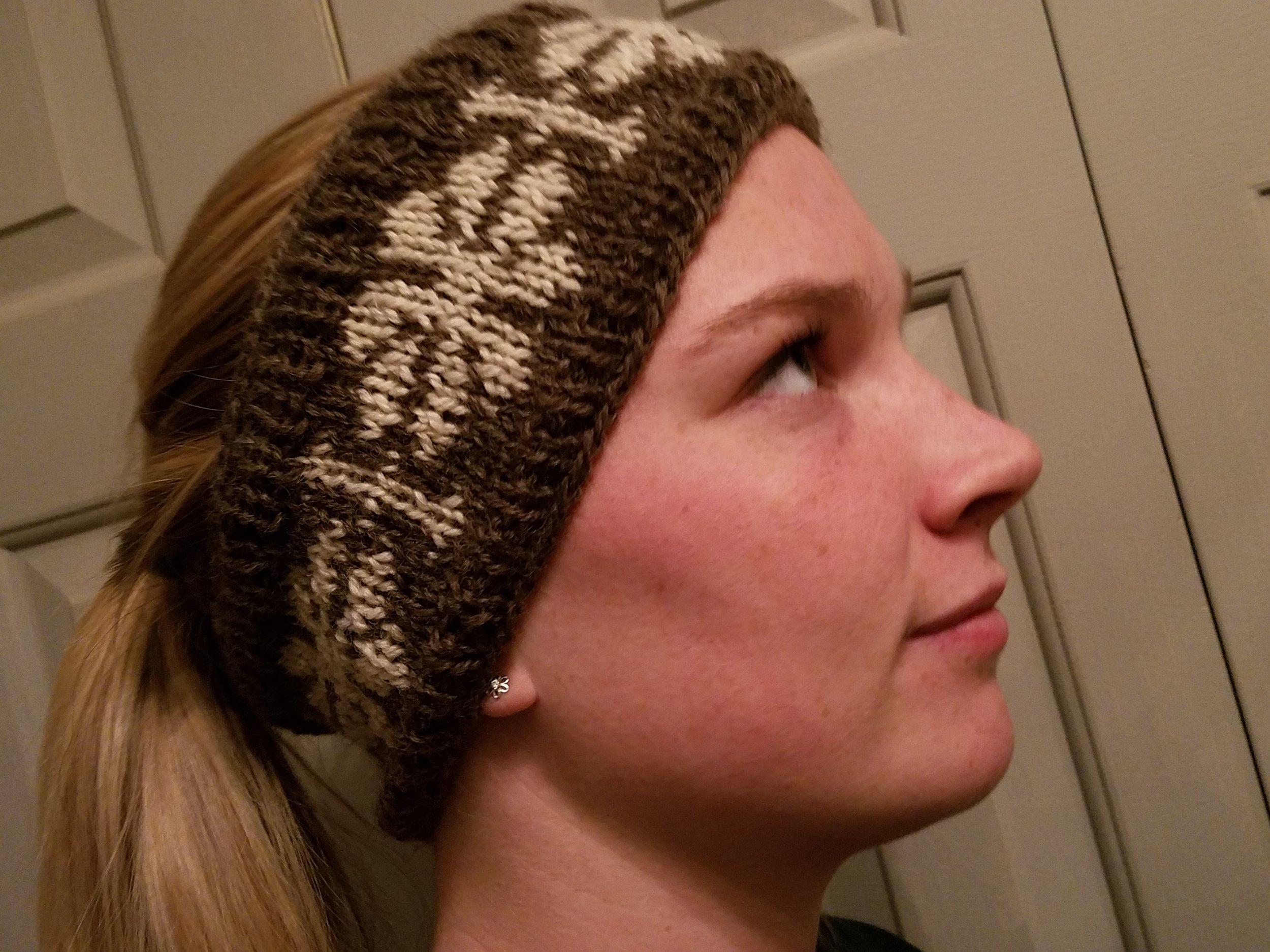 Snowflake headband