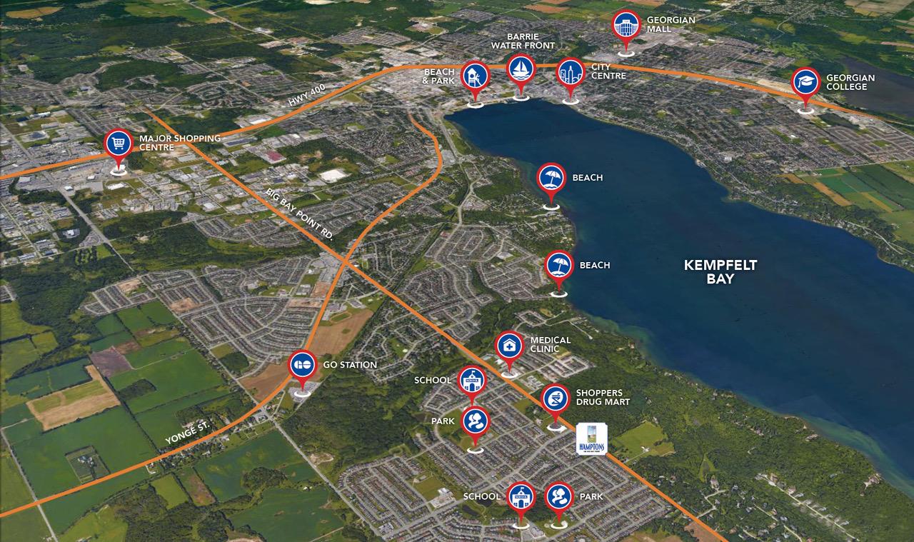 Local Amenities Map