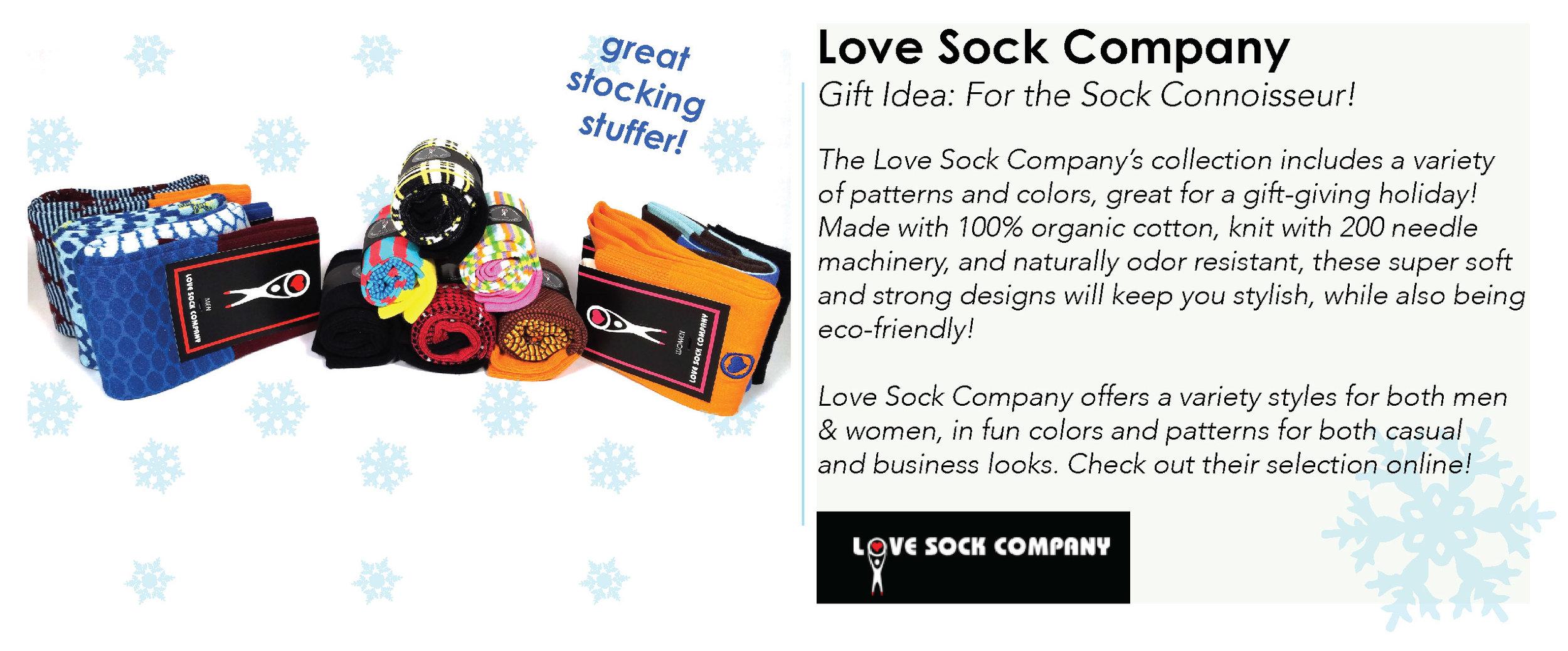 Photo Credit: Love Sock Company - Shop the Look:  Love Sock Company Website
