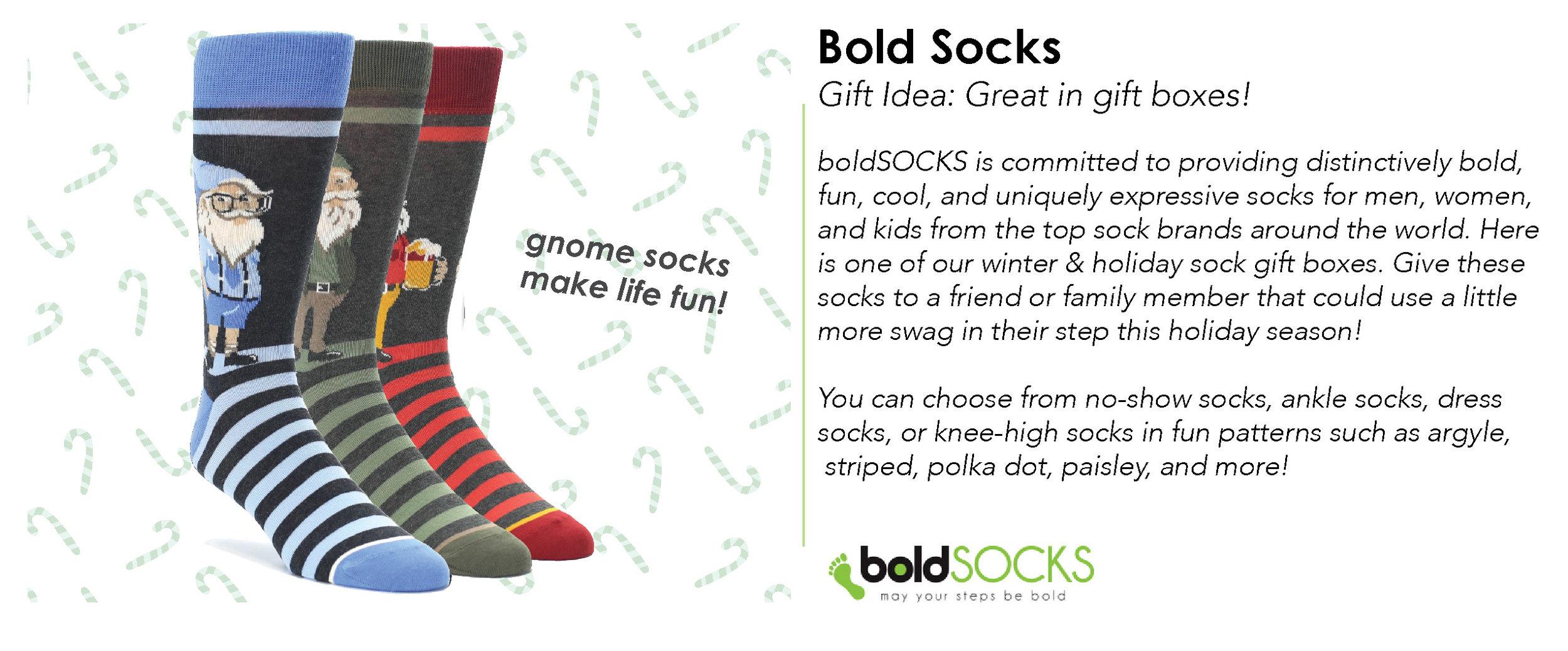 Photo Credit: boldSOCKS - Shop the Look:  boldSocks Website