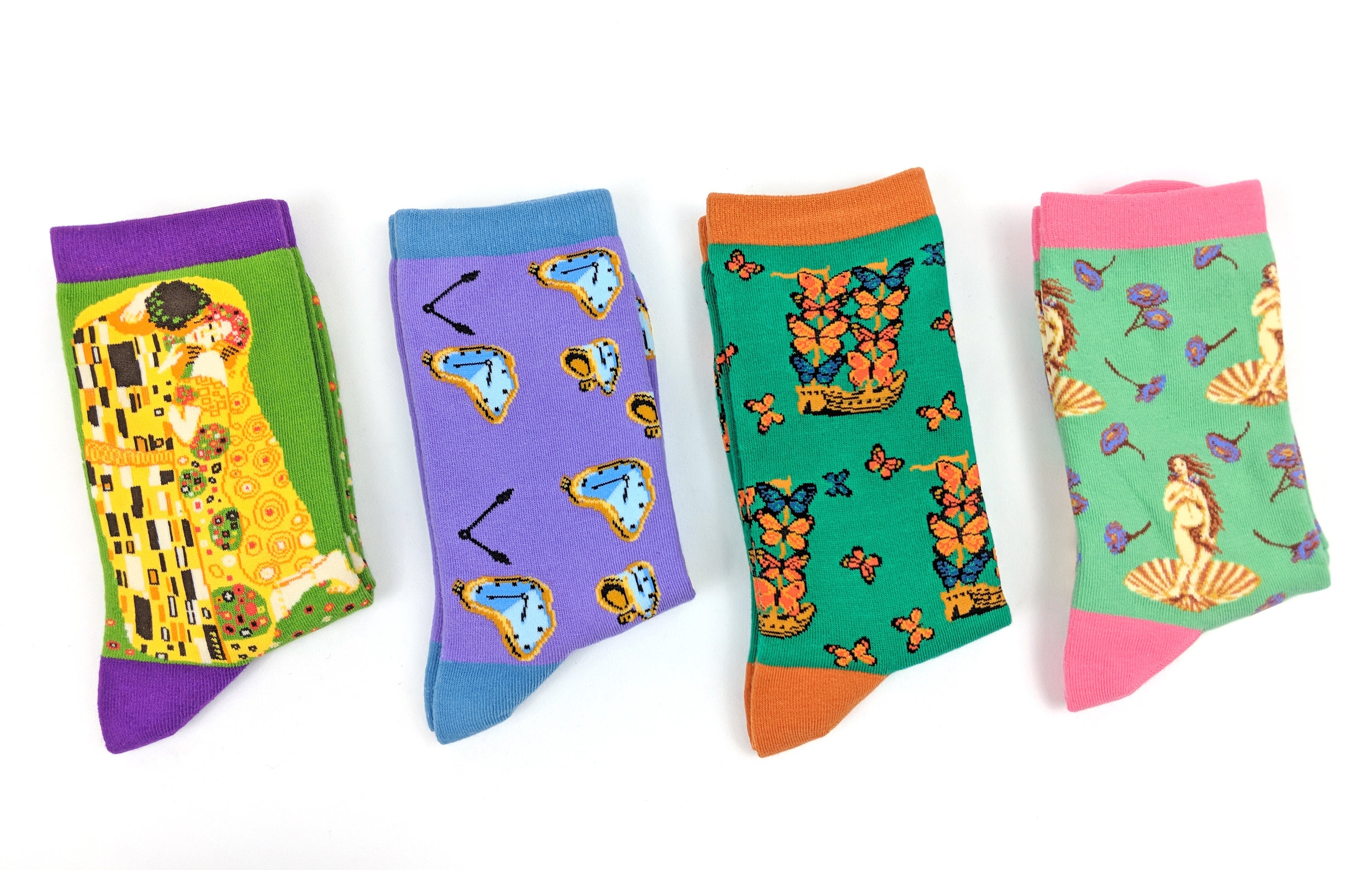 Imagery Socks, featuring famous artwork - Photo Credit: The Sock Review