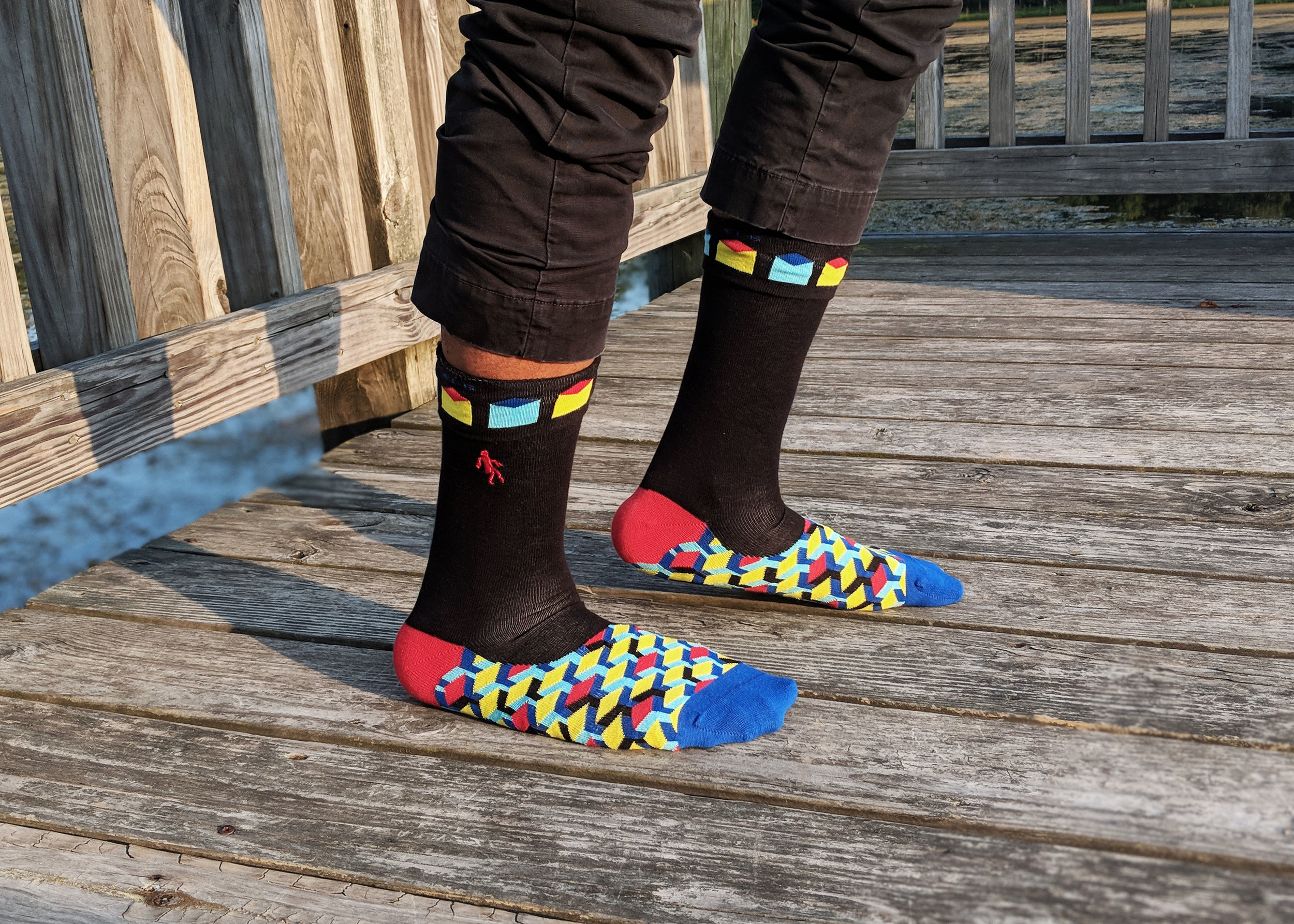 Show off your inner rebel with Quiet Rebellion Australia's styles! Photo Credit: The Sock Review