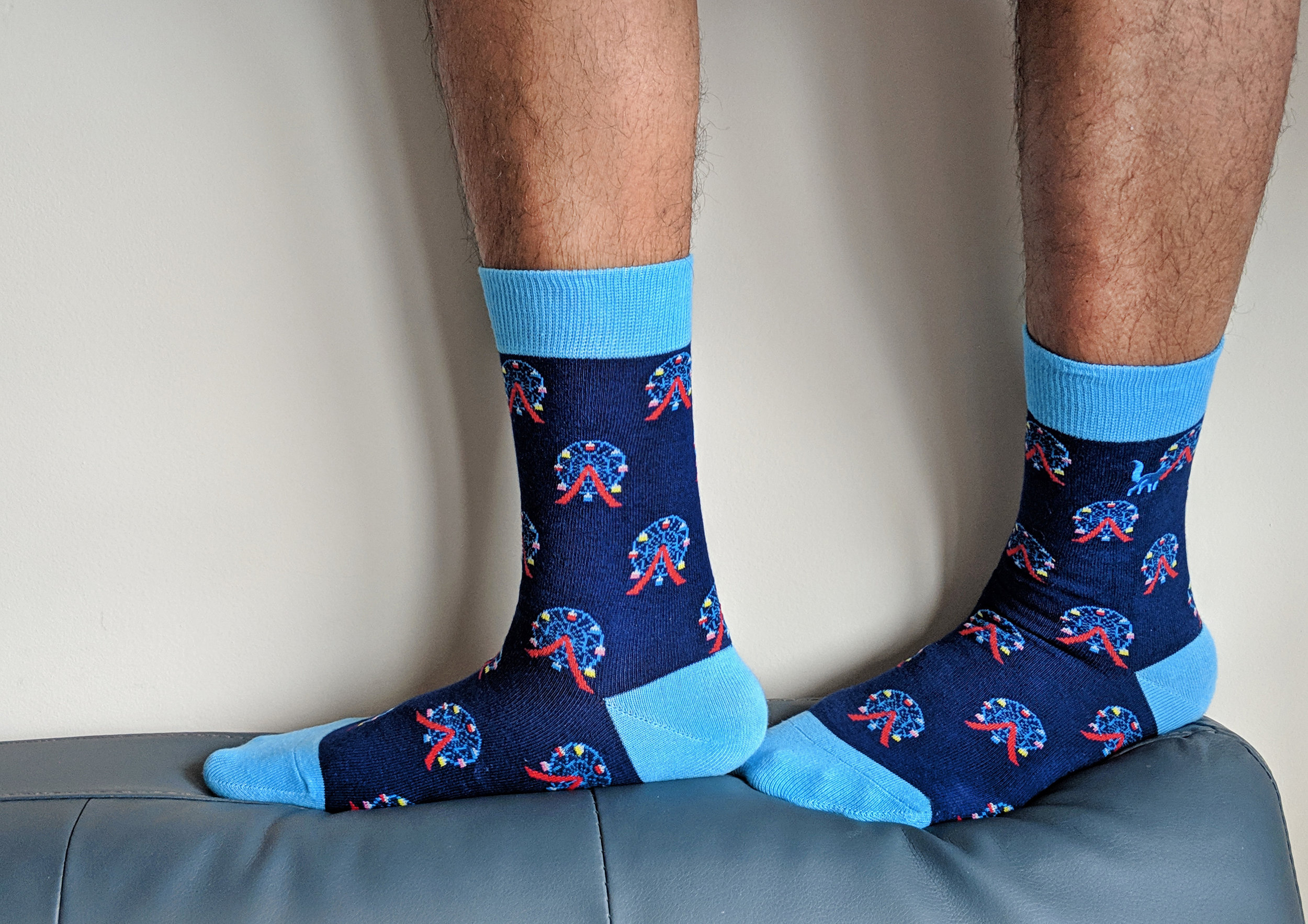 Ready to go for a Joy Ride? Pretty sure you can have lots of fun while wearing SlySocks' 'Joy Ride' design - favorite design!