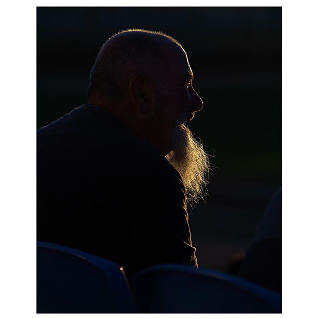 Get this man a corn dog - - - - - #fan #motorsport #beard #smokeshow #corndog #fastcars #nikon