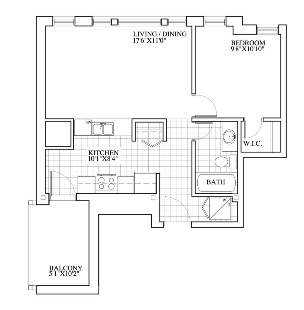 SOLD | Suite 201 | 628 sq ft