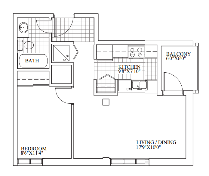 SOLD | Suite 205 | 567 sq ft
