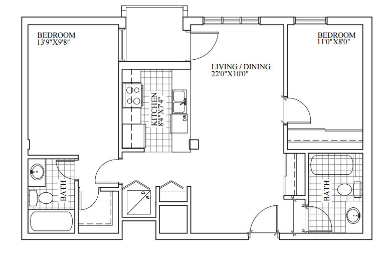 SOLD | Suite 304 | 832 sq ft