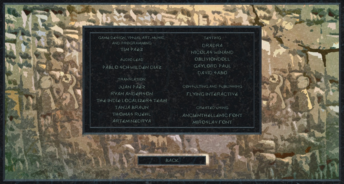 Credits for Divine Ascent (video game, EN-RU)