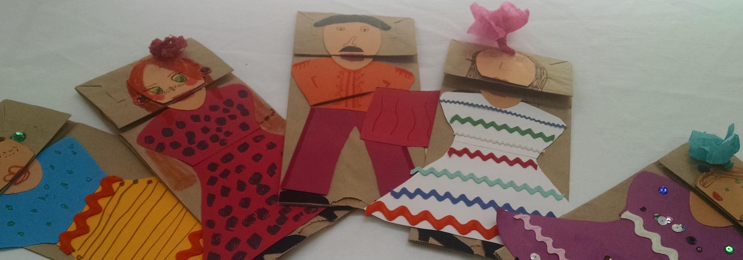 Flamenco puppets