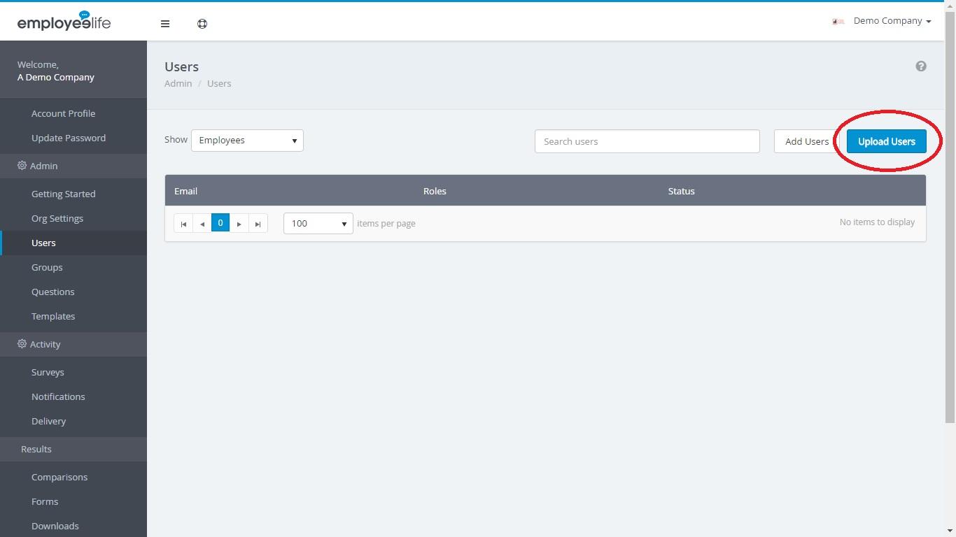 #2 - Uploading your CSV File