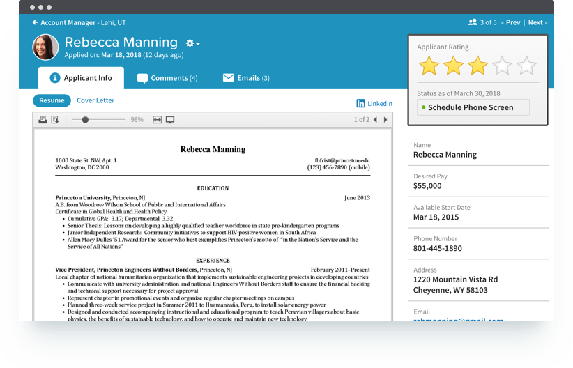 Applicant Tracking - Find the right people faster. Just like the early bird and the worm, the right Applicant Tracking System helps HR reps get the best candidates.