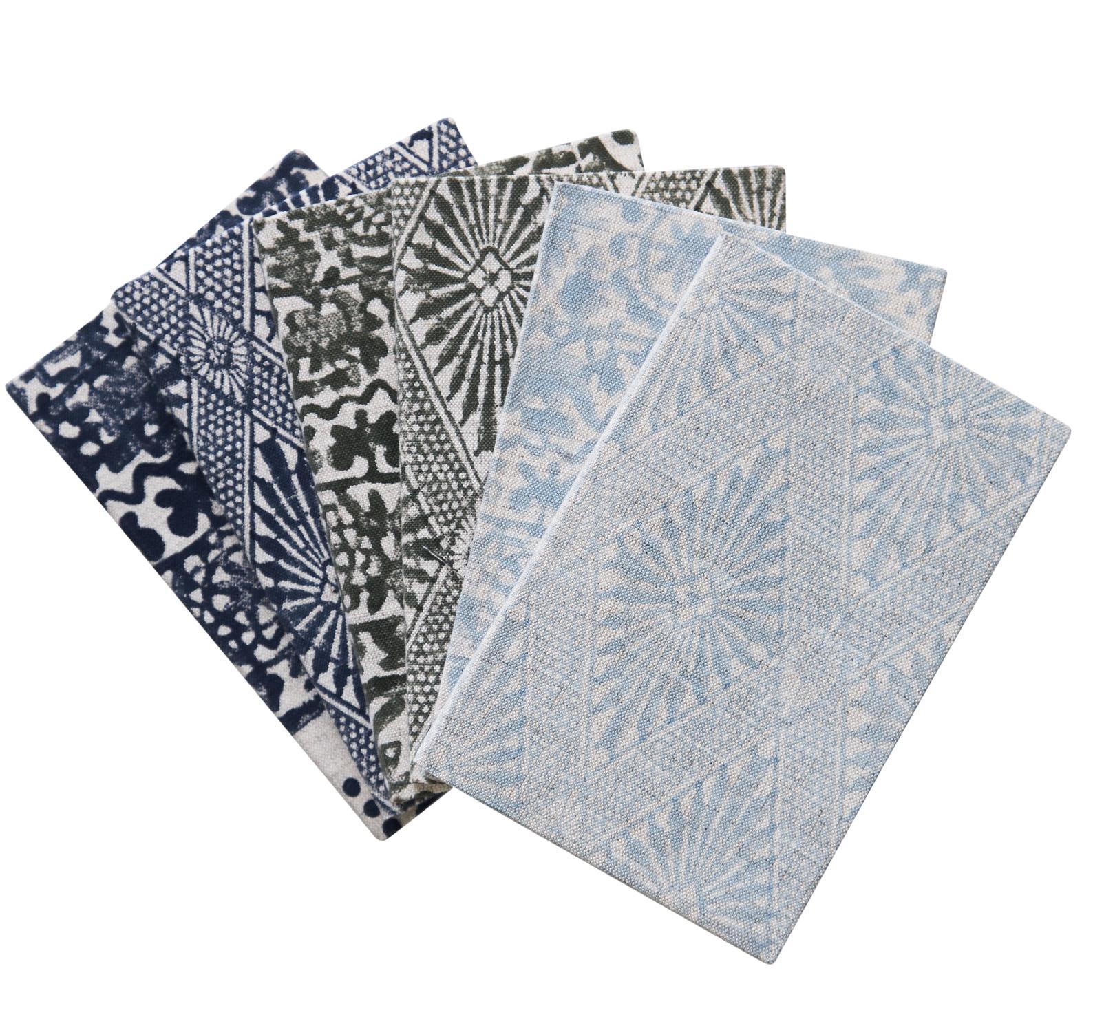 campana notebooks set/6 large -