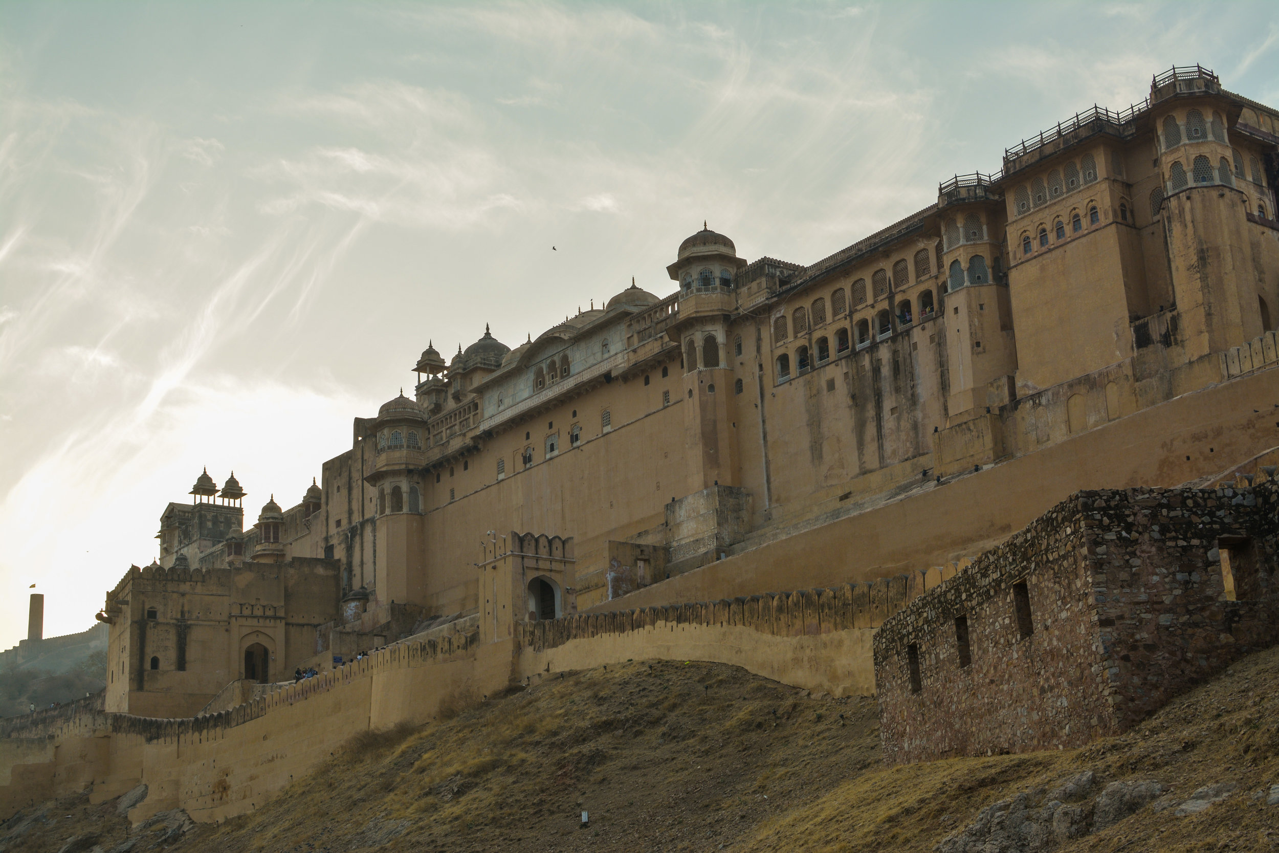 Amber Fort, Jaipur, India  January 2016