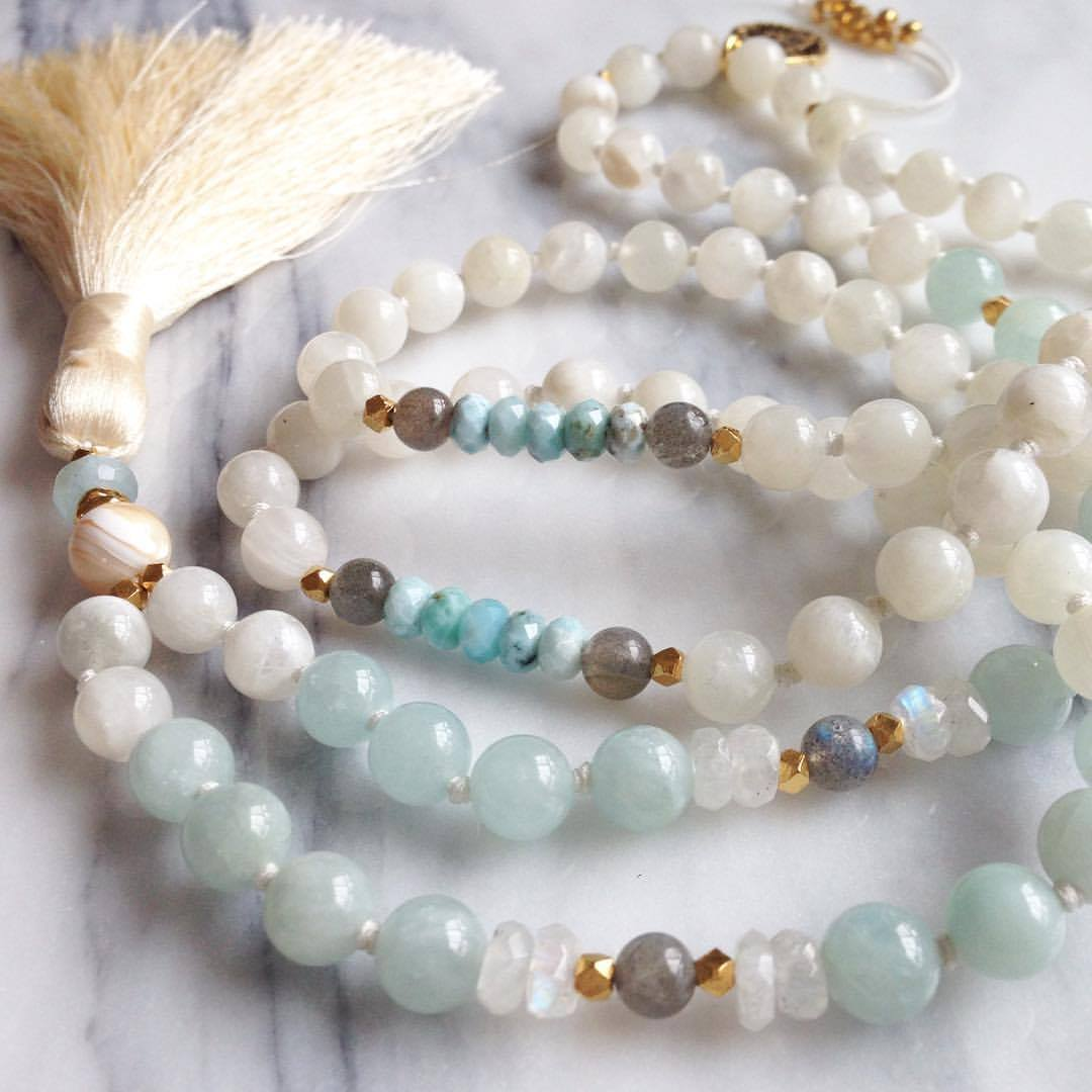 Custom Hand Knotted Beads