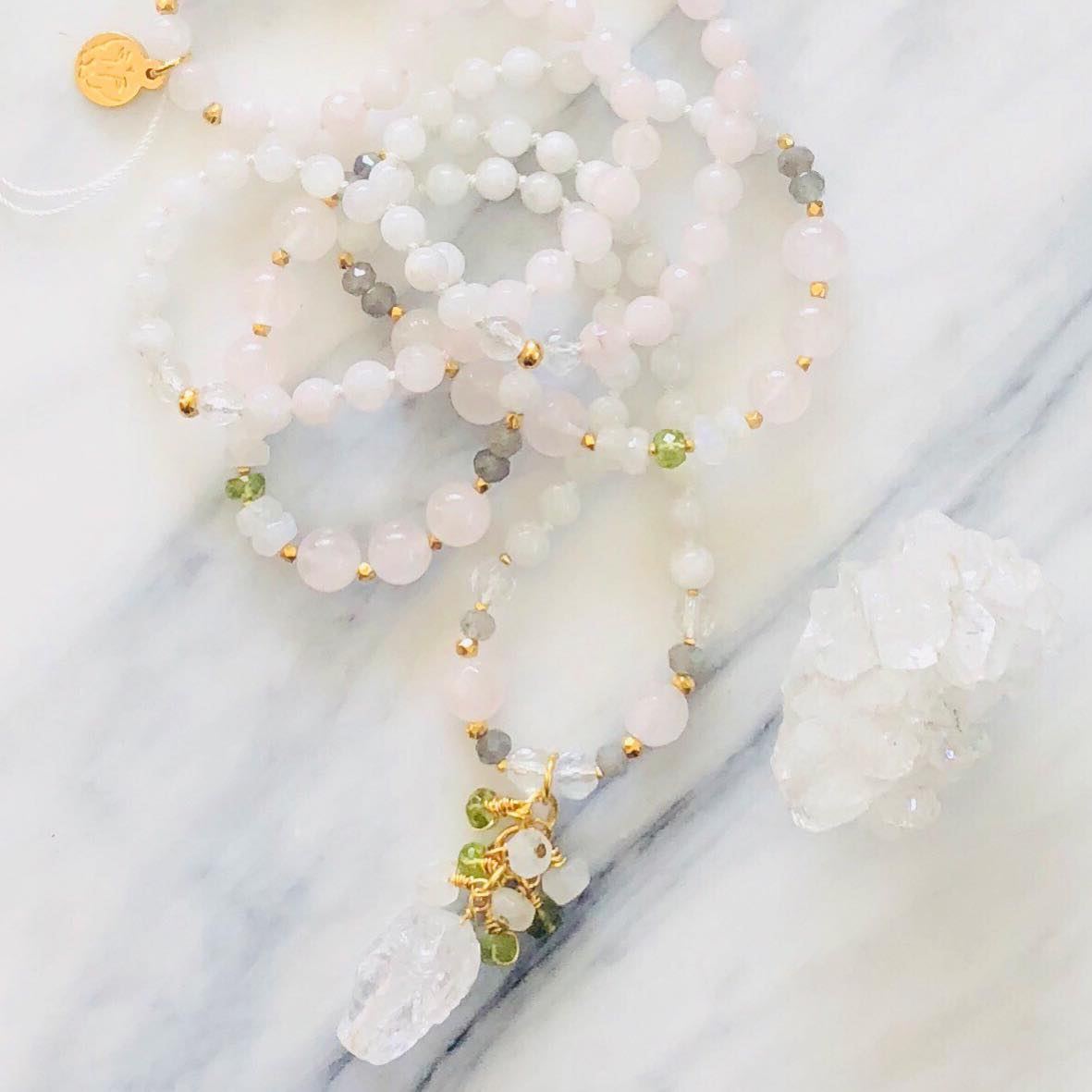 Custom Birth Mala