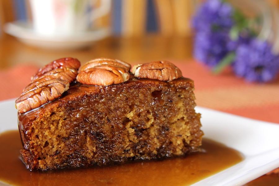 Moroccan Date Cake Recipe
