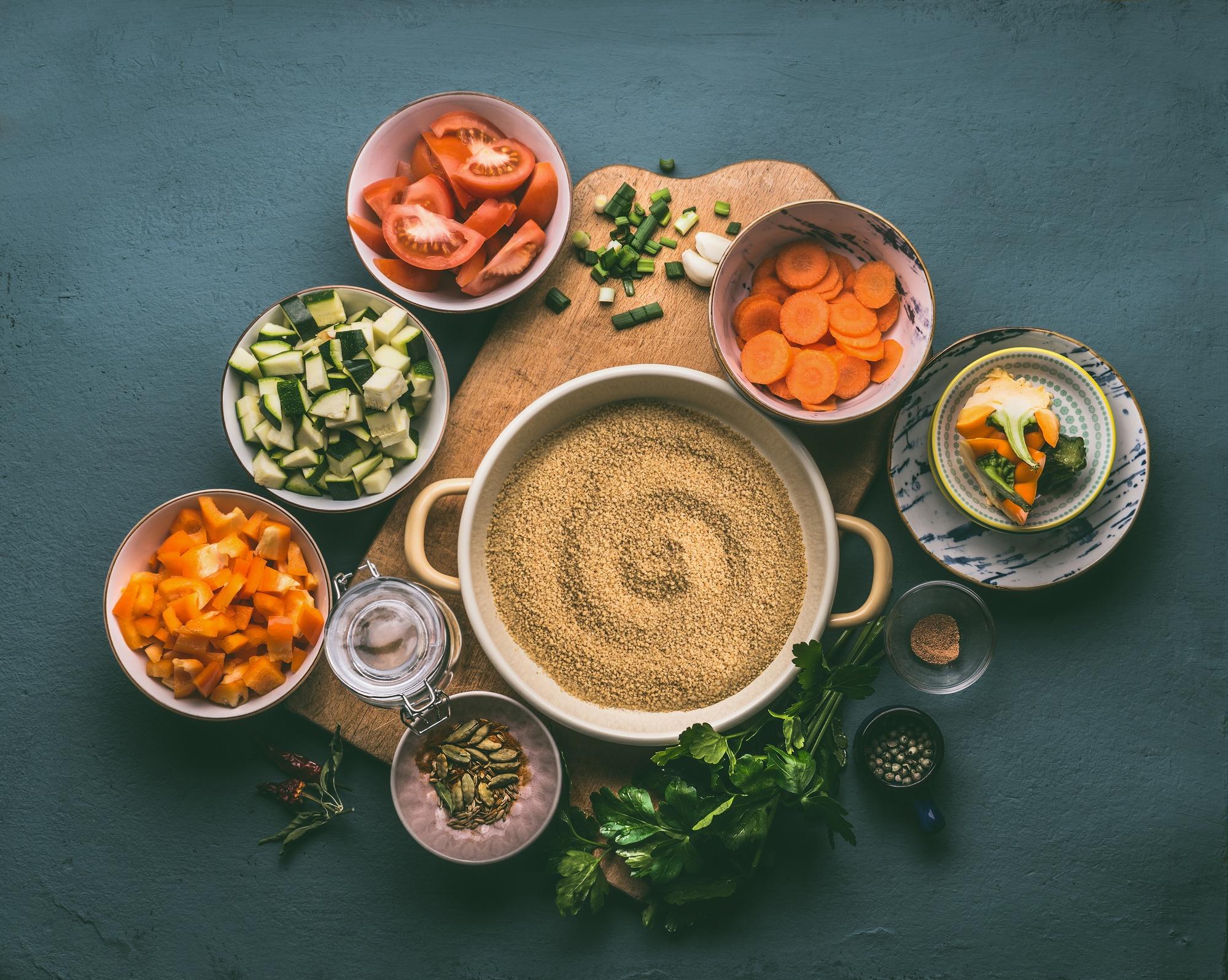 Moroccan menu