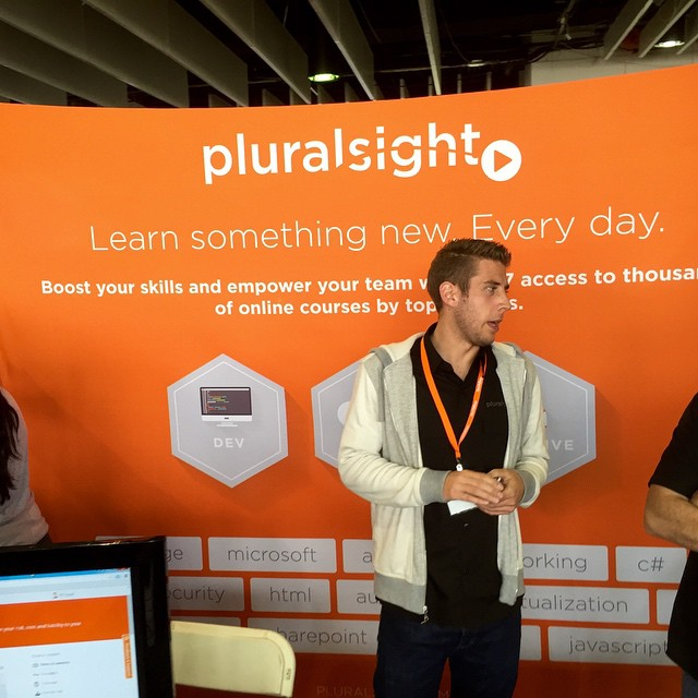 @pluralsight Great job at TechDayNY. Good meeting you! #talentpool #startup #photosesh #iphoneonly #iphonesia #iphoneography