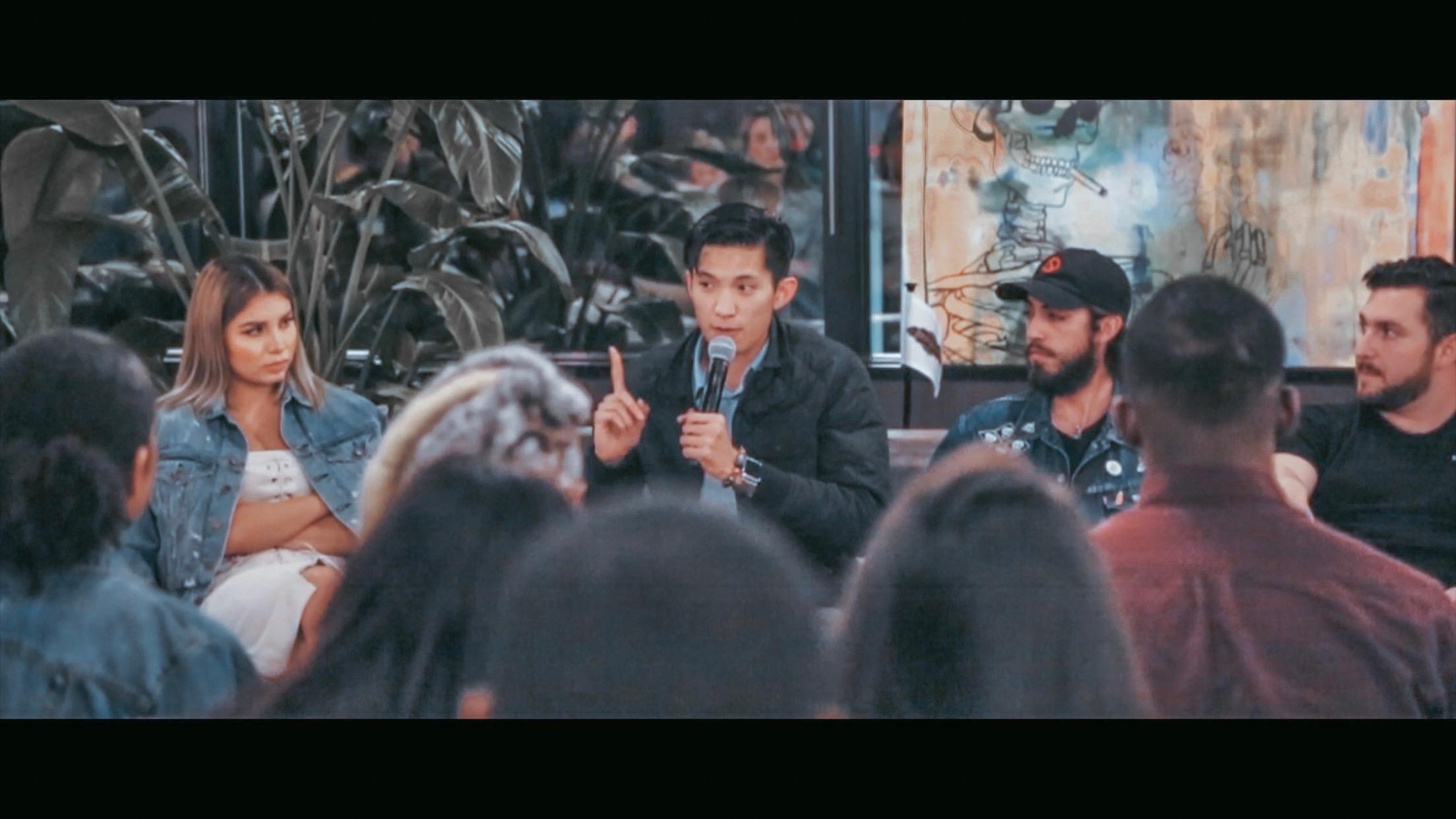 Speaking at the Entrepreneurship Panel at WeWork - Thanksgiving Tower