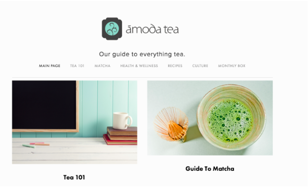 Food brands Amoda Tea