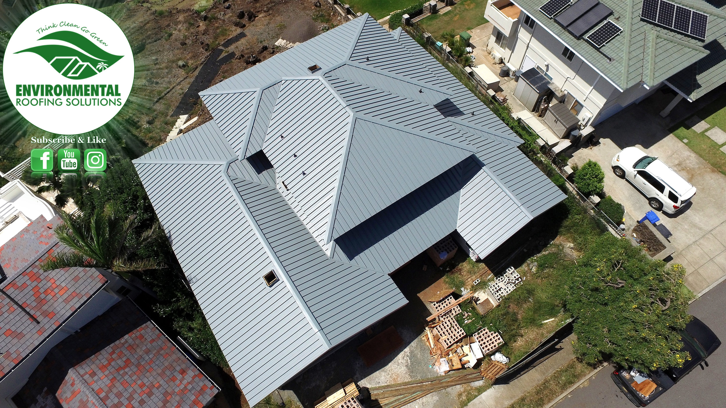 Environmental Roofing Solutions Honolulu Hawaii Roofing Company Slope To High Slope Roofs