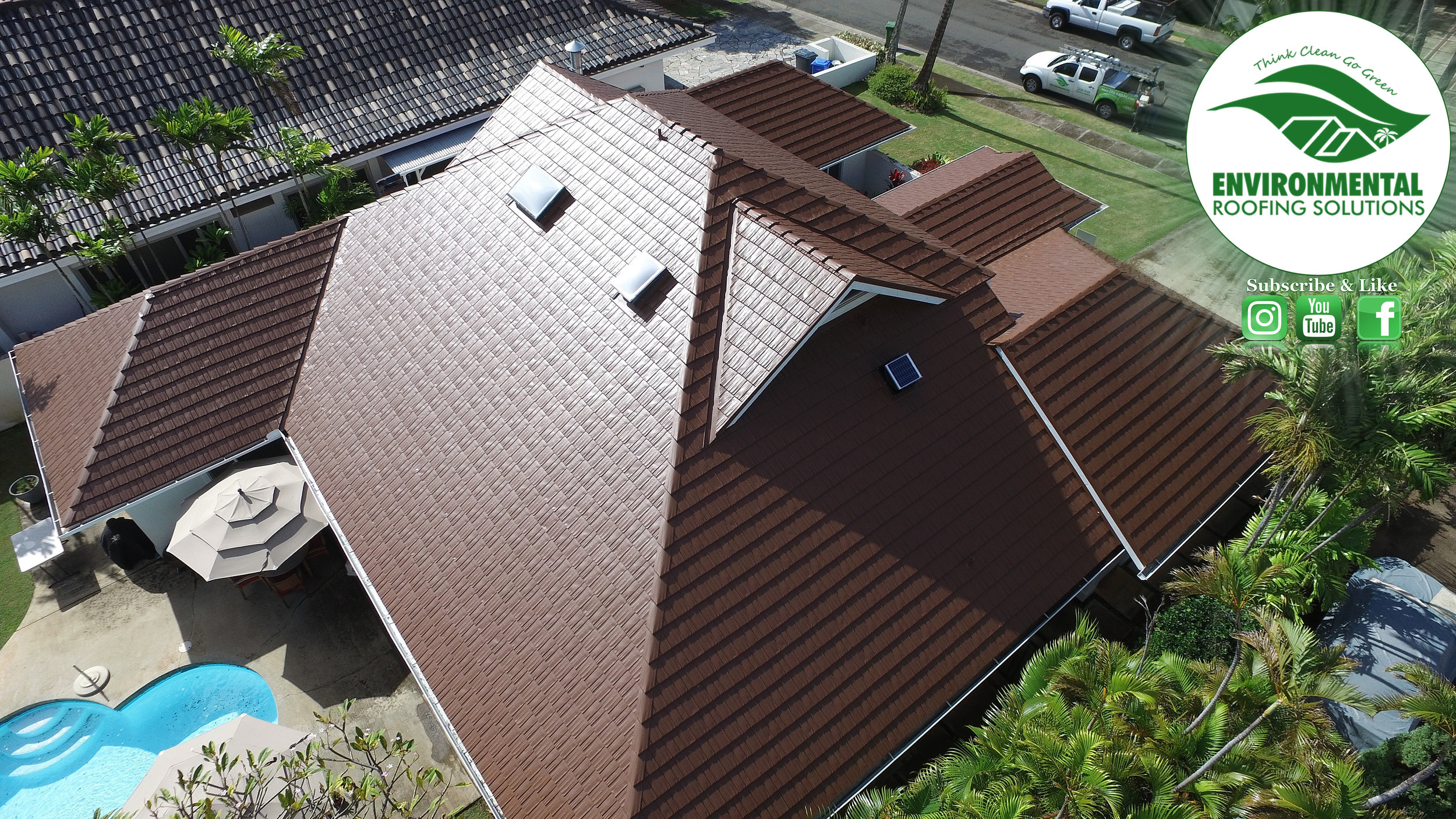 ALUMINUM SHAKE INSTALL BY ENVIRONMENTAL ROOFING SOLUTIONS