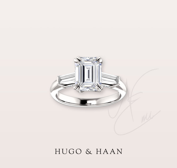 THE SOPHISTICATED EMERALD CUT - Always stunning and elegant - this cut was the choice of many celebrities for their enagement ring