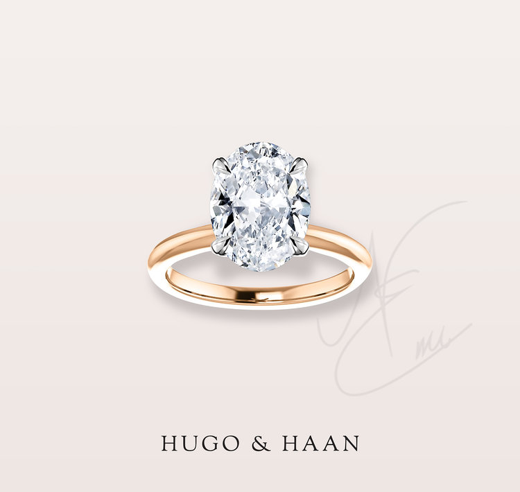 THE STUNNING OVAL - This cut has gained popularity in recent years and rightfully earned its place with the other classic designs to love.