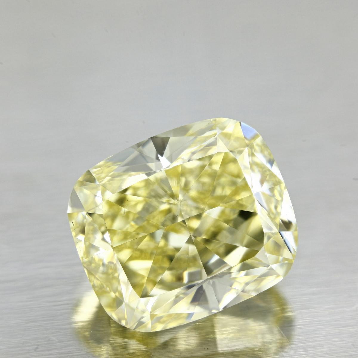 When it comes to these yellow beauties, it is exactly the opposite. The more colour you can see in the diamond or the more beautiful the yellow colour, the more expensive and exquisite that yellow diamond becomes. -