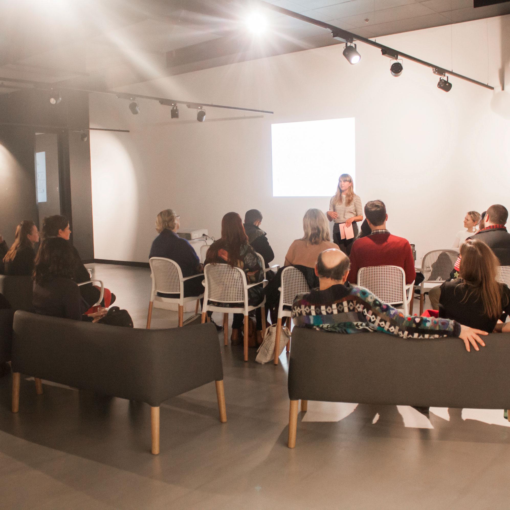 Coordinator / Artist Talk Moderator for Colour Box Studio's  Art to Art: Creative Conversations with Carla McRae