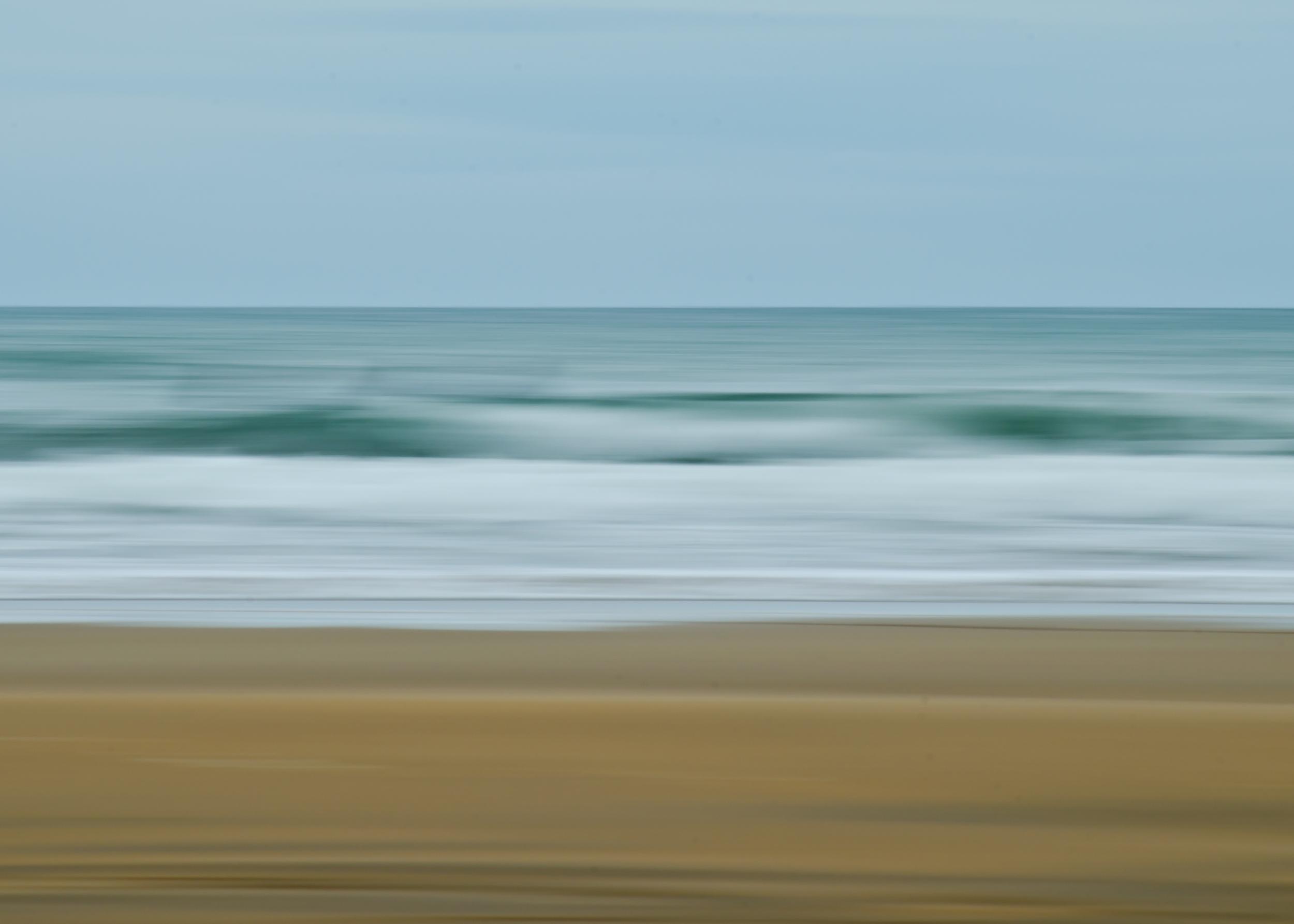 Sandymouth Beach Abstract
