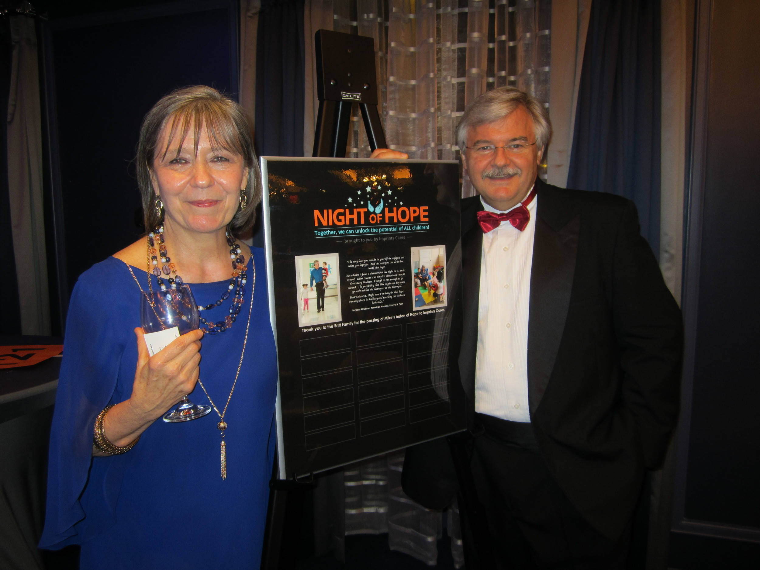 """2016 Imprints Cares """"Night of Hope"""" charity fundraiser"""