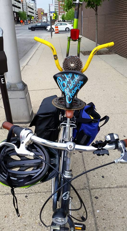 bike to work trophy