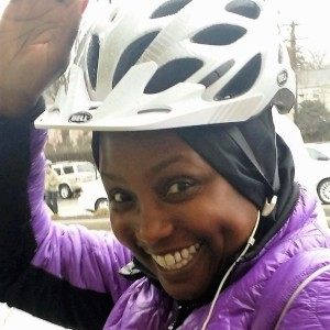 Yolande started commuting daily by bike earlier this year after experiencing a Year of Yay! ride.
